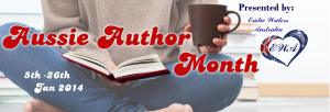 aussie author of the month